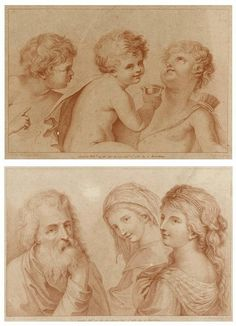 FRANCESCO BARTOLOZZI (1727-1815), CHILDREN AND FIGURES