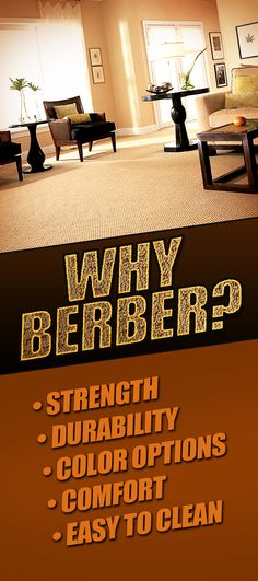 Why Berber? Is Berber Carpet out of Style?  We don't think so at all, and we'll tell you why. For more FLOORING tips & Resources visit CarpetGuys.com/blog
