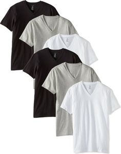 3b70165e85df1 Calvin Klein Men s Six-Pack Classic Classic V-Neck T-Shirt