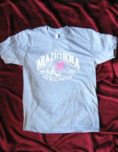 Madonna Super Bowl Lipstick Kiss Shirt AA Boy Toy MDNA Tour College Promo Sex | eBay