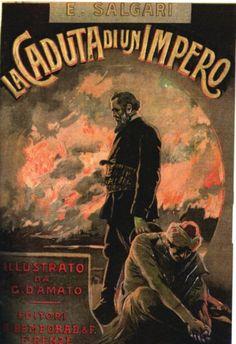 La caduta di un impero, 1911   Copertina di Gennaro Amato / (The fall of an empire, 1911-Cover of Gennaro Amato)