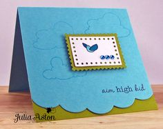 Great way to add an edge to your card without changing the shape.
