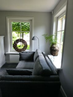 ~ Style By Gj *~ Living Dining Room, Decor, House Interior, Home, Interior, Gray Interior, Cozy House, White Room, Home Decor