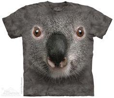 3574 Grey Koala Face