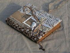 Handmade by Smilla: Блокнот с птичкой