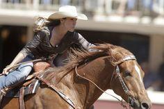Ride hard, barrel racing!