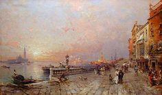 Franz Richard Unterberger - Venice