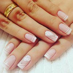 Healthy easy breakfast ideas to lose weight diet food list French Nails, Cute Nails, Pretty Nails, Hair And Nails, My Nails, Manicure And Pedicure, Nail Arts, Wedding Nails, Nails Inspiration