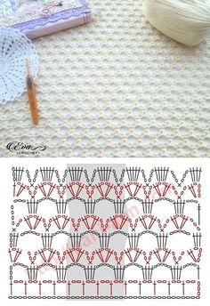 Crochet Lacy Stitch Más