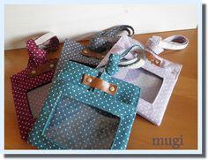好きな布で作れる♪IDケース☆保護者証入れの作り方 ソーイング 編み物・手芸・ソーイング ハンドメイド・手芸レシピならアトリエ