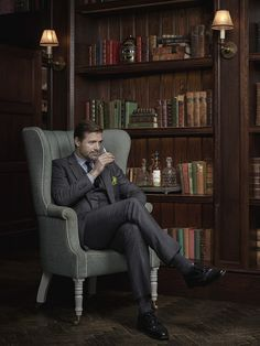 Menswear Style Patrick Grant for AnCnoc Whisky - Photography By Tom Bunning http://fave.co/1KTIpnU