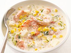 Shrimp and Corn Chowder Recipe : Food Network Kitchen : Food Network