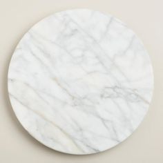 White Marble Lazy Susan (White Marble EVERYTHING)