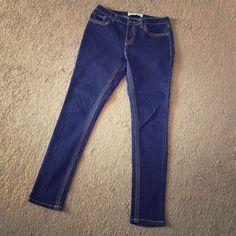 Fashion Bug dark skinny jeans Perfect with boots ! Excellent condition Fashion Bug Jeans Skinny