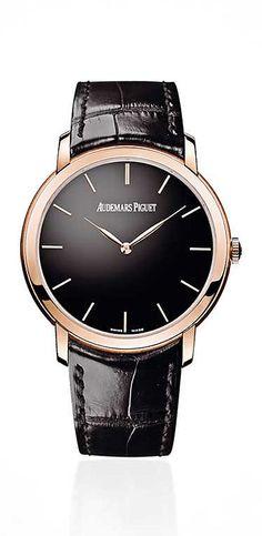 Extra-Thin Men's Watch, $25,000, AUDEMARS PIGUET, audemarspiguet.com