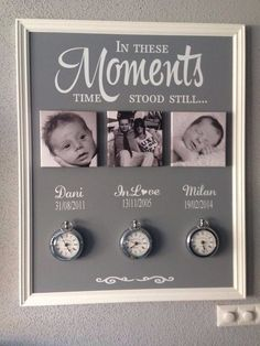 Dit wil ik zo mooi The Effective Pictures We Offer You About Diy Home Crafts room A quality picture Family Wall Decor, Living Room Decor, Diy Home Crafts, Diy Home Decor, Newborn Shadow Box, Creation Deco, Photo Displays, Picture Wall, Farmhouse Decor