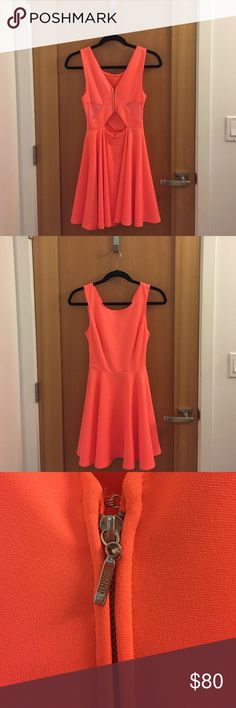 Neon Guess Dress Great condition- Only worn twice & needs a good home. Fits xs-s. Offers welcome Guess Dresses Mini