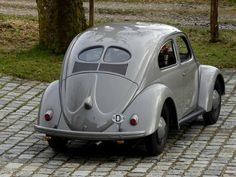 1949 VW Beetle Split Window #vw_vintage_morat Volkswagen