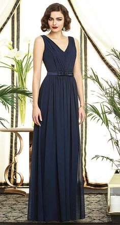 Check out the deal on Dessy Collection 2897 V Neck Bridesmaid Dress at French Novelty