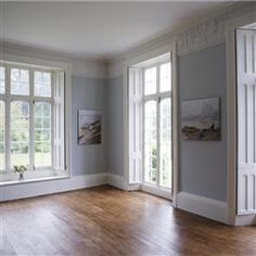 Grey Hallway Lighting Farrow Ball 32 Ideas For 2019 Living Room White, White Rooms, White Walls, Living Room Decor, Dining Room, Blue Walls, Farrow Ball, Farrow And Ball Paint, Pottery Barn