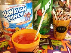 Whether you are entertaining with a big party or just your family, Halloween is a fun time to get creative with cooking and crafts for Halloween Celebrations!  Here are some spooky Halloween Recipes – Hawaiian Punch and 7UP make a delicious (and a bit scary!) Halloween Punch and I used M&M's for a cute Halloween Dessert. #7UPupgrade  #Contest