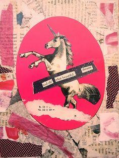 unicorn graffiti!