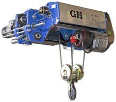 Nuevo modelo de polipasto monorraíl de altura reducida GHB11, fabricado por GH Cranes & Components.