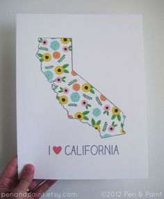 sweet print for the best state!