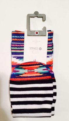 Stance Tie Dye Anklet Socks Womens Mens Rainbow Wild Adobe Stripes One Size | eBay