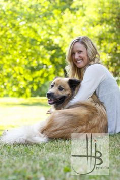 Professional Photography owner and dog | Dog and owner summer photography in…