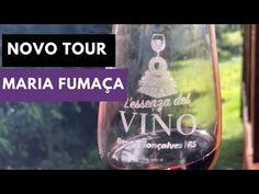 L'essenza del Vino - tour no trem Maria Fumaça com curso de degustação Wine Glass, Tours, Train Rides, Traveling, Railings, Lovers, Wine Bottles