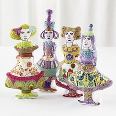My new doll collection for land of nod! Sarajo Frieden