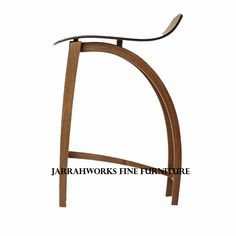 Bent Stool Wooden Seat Large Chair, Wishbone Chair, Stools, Love Seat, Hardwood, Chairs, Furniture, Home Decor, Homemade Home Decor