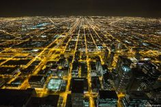 Cityscape Chicago by Eric Hines