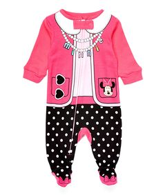 Look at this #zulilyfind! Minnie Mouse Costume Footie - Infant by Minnie Mouse #zulilyfinds