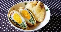 ♡話題入り感謝♡ 巾着煮シリーズ第3弾♪ これ1つで卵とベーコン、野菜も摂れて朝食のおかずにもぴったり?!