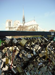 I want to go back and put a lock on the bridge <3