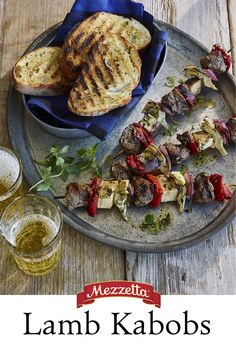 There is still time this summer to get grilling! These Lamb Kabobs are easy to pull together and would be great appetizers at your next backyard cookout. Learn how to bring the heat!
