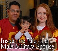 Everett Lopez is a male military spouse whose ranks account for just 7 percent of all military spouses. Check out this article to hear the rest of Everett's story. Do you think male mil. spouses face more hurdles than female spouses? Tell us what you think.