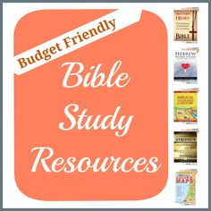 free and cheap Bible resources for your homeschool Kjv Study Bible, Free Bible Study, Bible Study Tips, Bible Study For Kids, Bible Study Journal, Faith Bible, Bible Lessons, Bible Scriptures, Bible Studies For Beginners