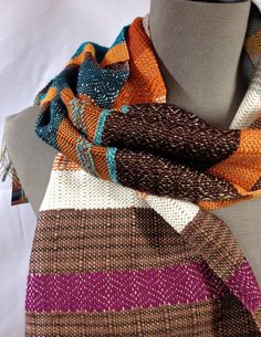 Omyra // Handwoven  Scarf // Autumn Women's Fashion by pidgepidge