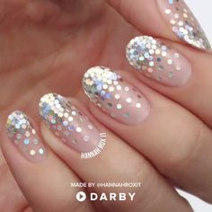 DIY Tutorial: How to Make your Nails Sparkle Like Diamonds #darbysmart #beautytips #beautyhacks #beautytricks #beautytutorial #beauty #makeuptutorial #nailpolish #nailart #naildiy #naildesign #nailtutorial