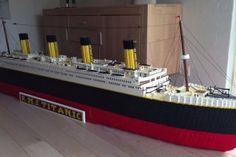 Cet enfant a construit une réplique parfaite du Titanic avec 30 000 LEGO …