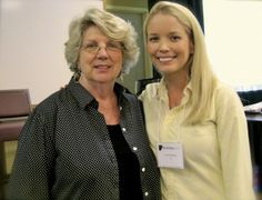 Dr. Marsha Linehan and Laura Schenck