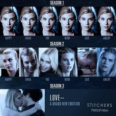 "1,438 Likes, 13 Comments - Stitchers (@stitcherstv) on Instagram: ""Head over heels in love. ❤️ #StitchersSeason3"""