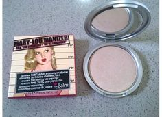 face highlighter by Mari Lou Manizer