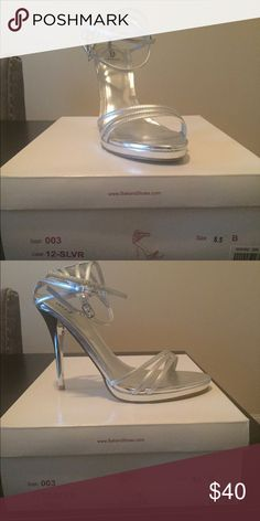 Bakers Silver Salsa heels Bakers Silver Salsa heels Bakers Shoes Heels