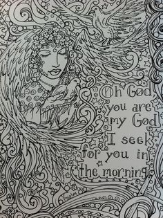 COLORING BOOK PraYerS to CoLoR You be the ArTisT by ChubbyMermaid