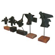 Constructivist-Assemblage Sculptures by Arthur Rodrigues
