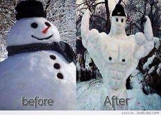 CrossFit Snowman
